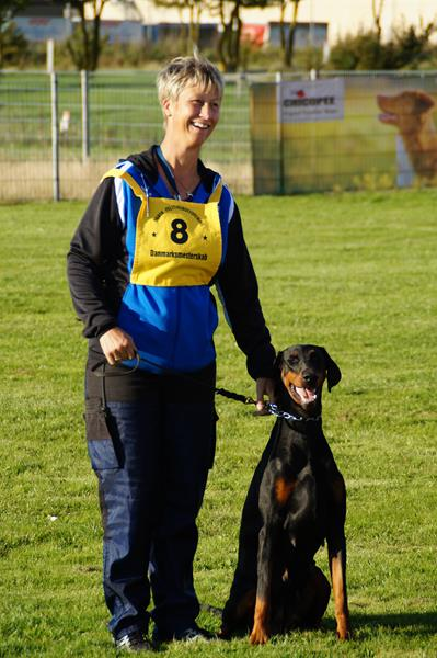 I are very proud to announce we got no 7 in the Criminal class in the Danish Championship for Policedogs