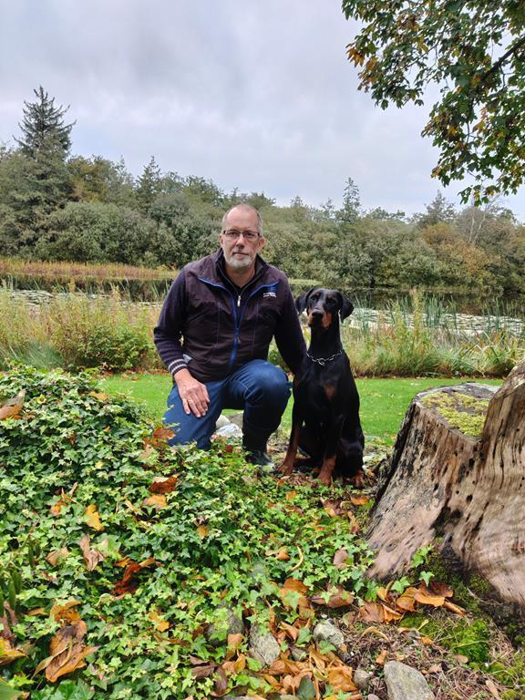 ️Congratulations to Hans Jørn and Lafiet️ passed PH-working dog